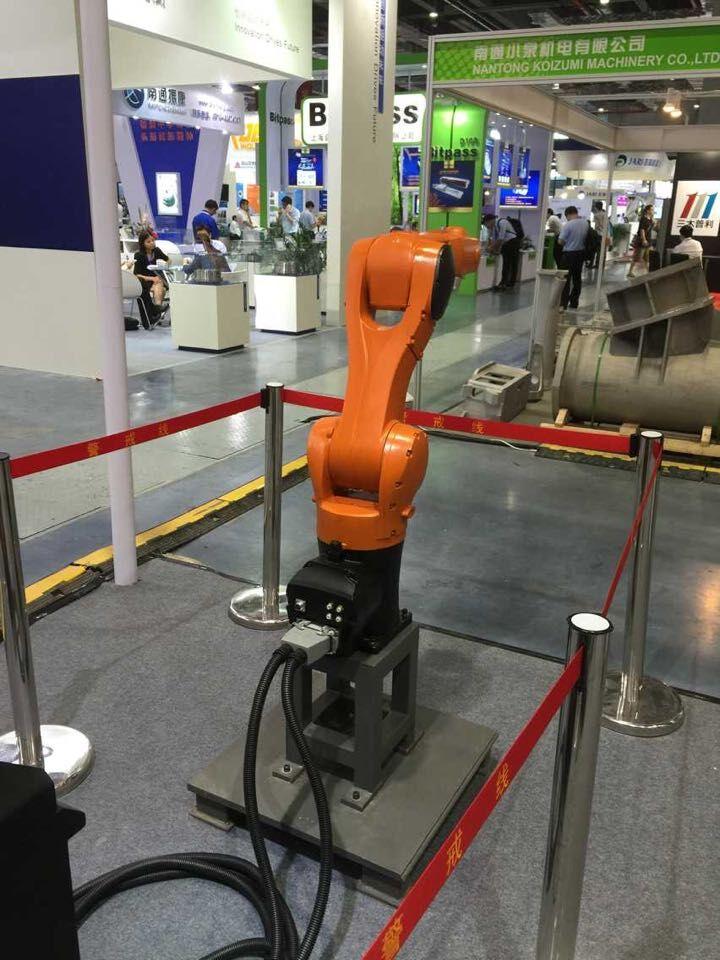 智能喷涂机器人的组成